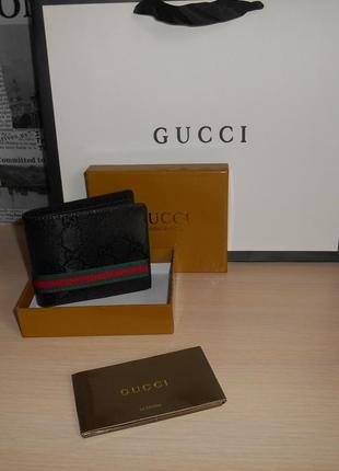 Мужской кошелек, портмоне, бумажник, кожа, италия