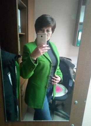 Бомбезный кашемировый тёплый пиджак. 36-38. brend didi+туника в подарок2 фото