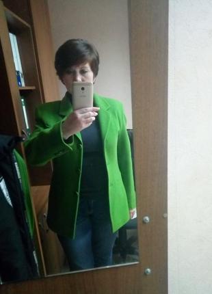 Бомбезный кашемировый тёплый пиджак. 36-38. brend didi+туника в подарок3 фото
