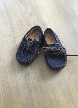 Шкіряні туфельки zy baby
