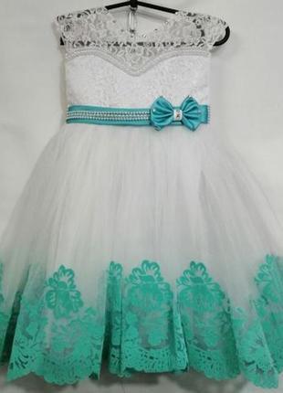 Нарядное платье 4-6лет! пышные праздничные бальные платья! много моделей