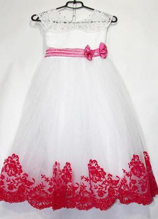 Нарядное платье 4-6лет! пышные праздничные бальные платья! много моделей!