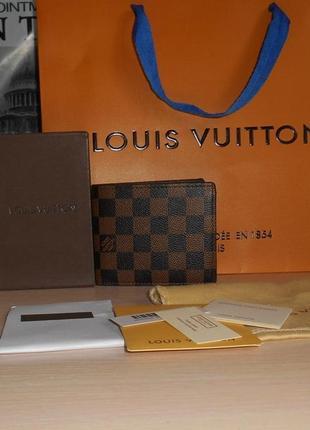 Кошелек, портмоне, бумажник мужской, кожа, франция