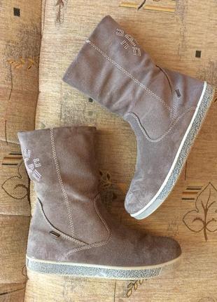 Primigi замшеві демі чобітки, gore-tex, 35 розмір