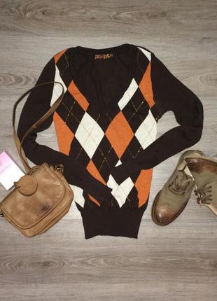 "Пуловер свитер ""stradivarius"" размер м, хлопок"