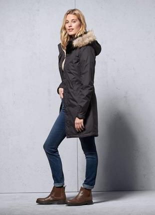 Р-р 46-48 термо пальто евро зима tchibo германия.