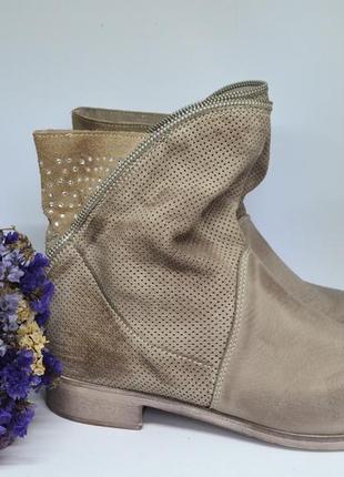 Стильні черевички від ovye, італія, натуральна шкіра