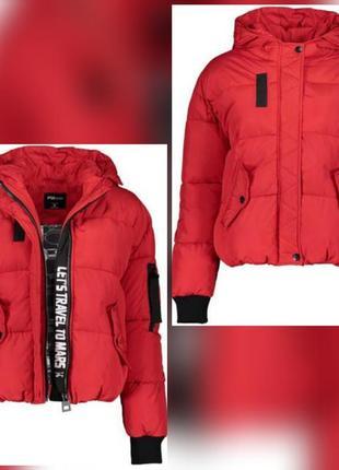 Шикарный пуфер оверсайз пуффер пуховик дутик дутая куртка fb sister
