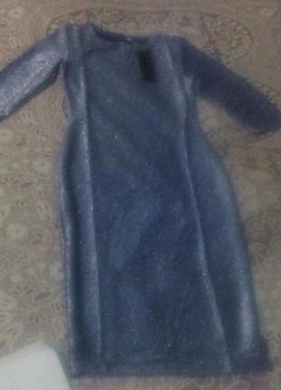 Святкові сукні з люрексу стрейчеві3 фото