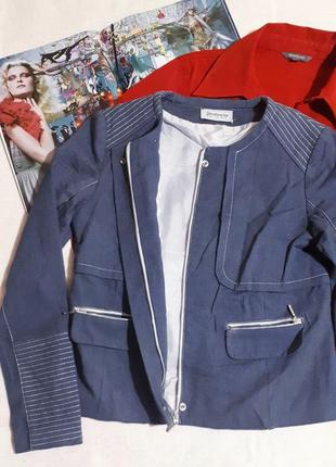 Пиджак женский бомбер жакет на молнии с карманами от stradivarius