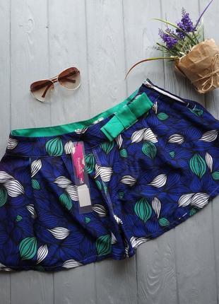 Пляжные шорты-юбка р.40