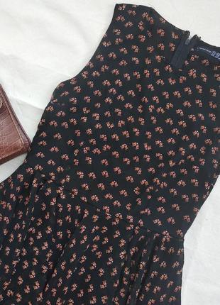 Платье с птичками