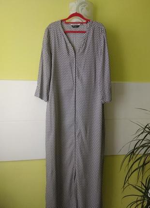 Шикарное макси платье в пол  с карманами от  maison scotch la femme selon marie