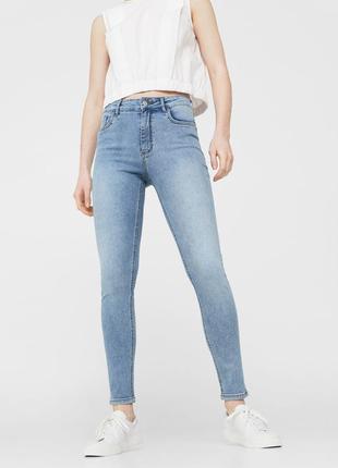 Шикарные джинсы с высокой посадкой от mango, 36р, испания, оригинал