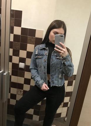 Офигенная джинсовая куртка
