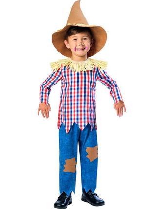 Карнавальный детский костюм пугало,чучало на 5-6 лет