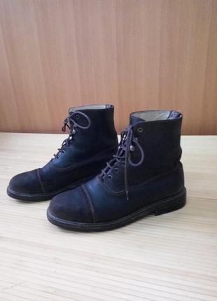 Ботинки / берцы кожа