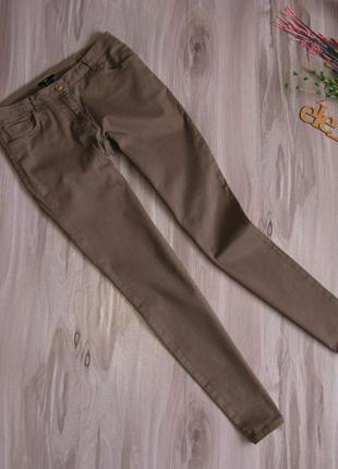 Брюки ( легкие джинсы) стрейч h&m размер eur 38-40