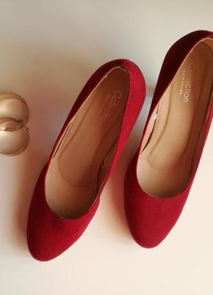 Красные туфли debenhams 39 р.