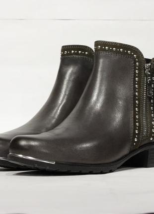Кожаные ботинки caprice, германия-оригинал