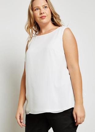 Блуза с бусинами на спинке большой размер evans5
