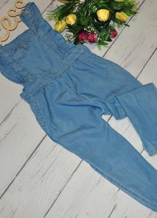 Модный джинсовый сарафанчик моделька 18 года рюш
