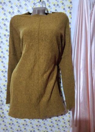 Тёплый,уютный пуловер, реглан,свитер atmosphere .размер l -xl-xxl