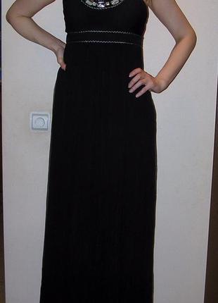Платье шелковое в пол  forever new.