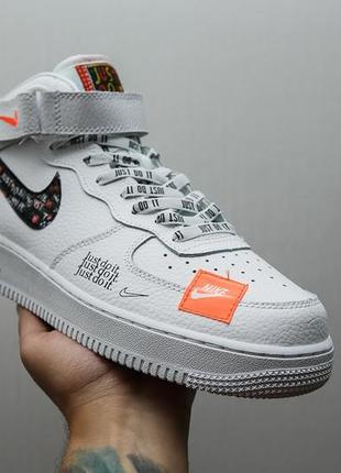 "Крутые кроссовки nike air force ""just do it pack"""