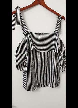 Блуза с открытыми плечами. vangils