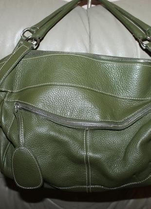 Фирменная сумка из натуральной кожи бренда furla, италия