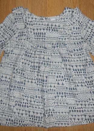 Блуза-туника на девочку 6-7 лет