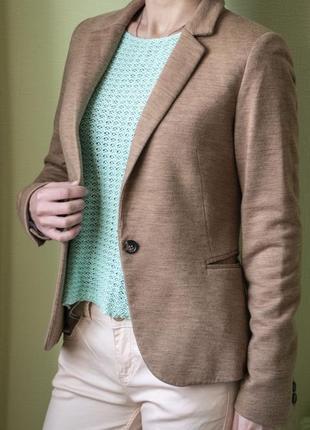 Базовый пиджак жакет esprit, xs-s