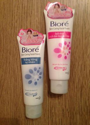 Пена для умывания очищения кожи biore 100г япония2 фото