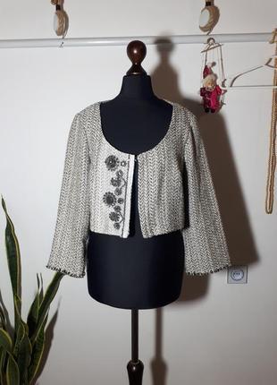 Короткий пиджак siste's италия