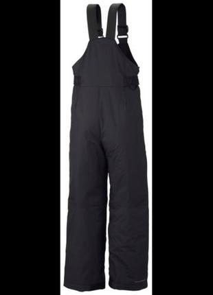 Зимние брюки полукомбинезон, черные columbia boys´ snowslope ii bib snowpan