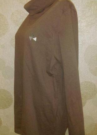 Актуальный гольф свитер из натуральной ткани водолазка