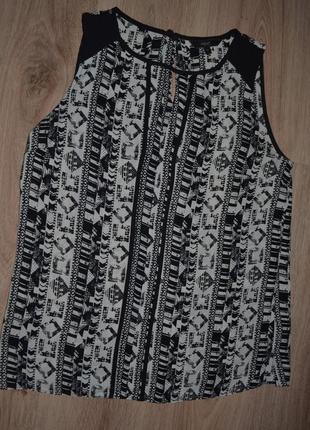 Женская майка блузка next р.12 сост отл ц-85грн