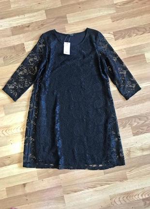 Красивое кружевное платье george, новое (uk14 - наш 48/50)