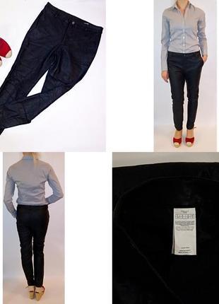 Экокожа! брюки! размер м-л!