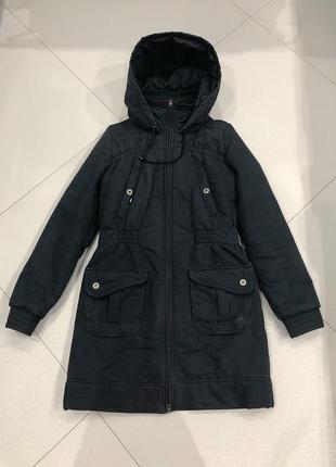 Зимний теплый пуховик куртка adidas оригинал размер s