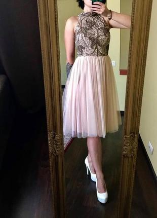 Шифоновое платье!