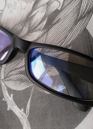 Распродажа! компьютерные черные матовые очки защитные для компьютера стиля прямоугольные3 фото