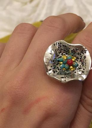 Кольцо в стиле бохо необычное и очень крутое