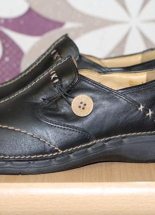 Роскошные кожаные туфли clarks 38-39