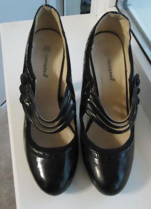 Стильные фирменные туфли atmosphere, р.38 код t3852