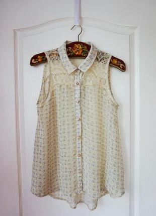 Нежная блуза на лето