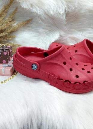Тапочки тапки сабо crocs ( 38 размер )