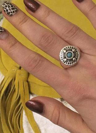 Бохо кольцо милейшее размер 19