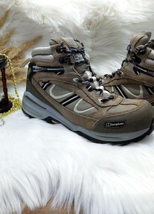 Отличные ботинки berghaus gore-tex ( 38 размер )